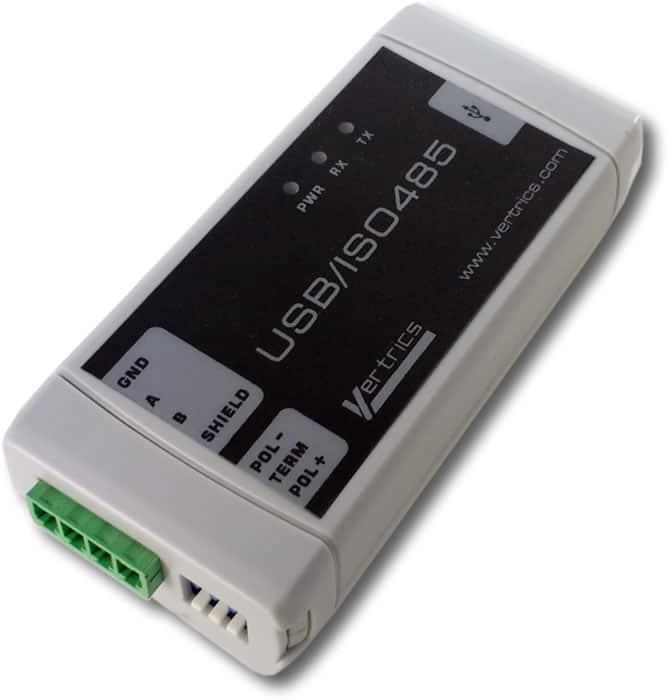 Perspectiva interfaz USB/ISO485